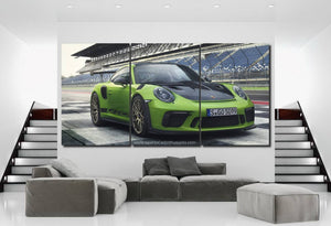 Porsche 911 GT3 RS Canvas 3/5pcs FREE Shipping Worldwide!!
