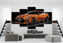 Load image into Gallery viewer, Nissan GT-R R35 Canvas 3/5pcs FREE Shipping Worldwide!!