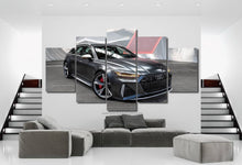 Load image into Gallery viewer, Audi RS6 Canvas 3/5pcs FREE Shipping Worldwide!!
