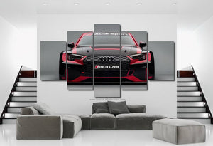 Audi RS3 Canvas 3/5pcs FREE Shipping Worldwide!!