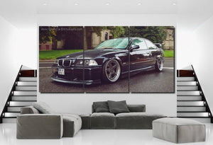 BMW E36 M3 Canvas FREE Shipping Worldwide!!