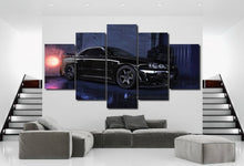 Load image into Gallery viewer, Nissan GT-R R34 Canvas 3/5pcs FREE Shipping Worldwide!!