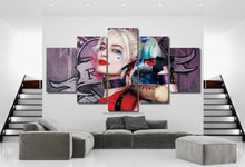 Load image into Gallery viewer, Suicide Squad Canvas 3/5pcs FREE Shipping Worldwide!!