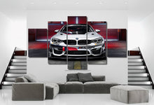 Load image into Gallery viewer, BMW M4 GT4 Canvas 3/5pcs FREE Shipping Worldwide!!
