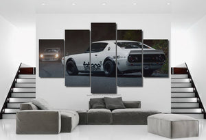 Nissan Skyline 2000 GT-R Canvas 3/5pcs FREE Shipping Worldwide!!