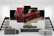 Load image into Gallery viewer, BMW E30 M3 Canvas 3/5pcs FREE Shipping Worldwide!!