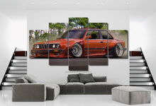 Load image into Gallery viewer, BMW E30 Canvas FREE Shipping Worldwide!!