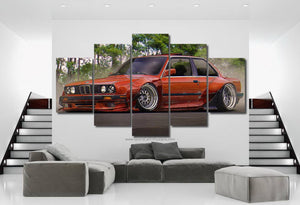 BMW E30 Canvas FREE Shipping Worldwide!!