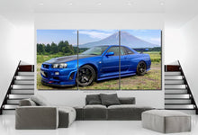 Load image into Gallery viewer, GT-R R34 Canvas FREE Shipping Worldwide!!