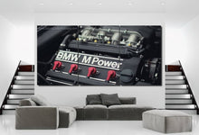 Load image into Gallery viewer, BMW E30 M3 Engine Canvas 3/5pcs FREE Shipping Worldwide!!