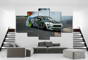 Ford Mustang Drift Canvas 3/5pcs FREE Shipping Worldwide!!
