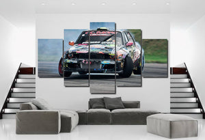 BMW E30 Drift Canvas 3/5pcs FREE Shipping Worldwide!!