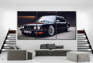 BMW E21 Canvas 3/5pcs FREE Shipping Worldwide!!
