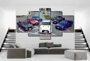 GT-R Canvas 3/5pcs FREE Shipping Worldwide!!
