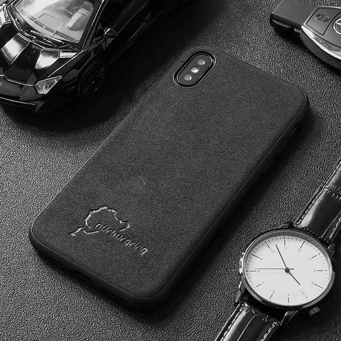 Luxury Alcantara Phone Cases For iPhone All Models FREE Shipping Worldwide!!