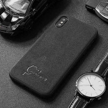 Load image into Gallery viewer, Luxury Alcantara Phone Cases For iPhone All Models FREE Shipping Worldwide!!
