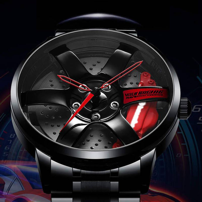 3D Rim Watch For Sports Car Enthusiasts FREE Shipping Worldwide!!