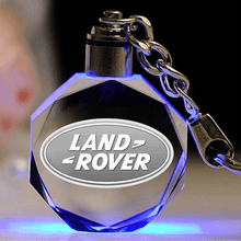 Load image into Gallery viewer, Laser Engraved Crystal Keyring FREE Shipping Worldwide!!