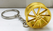 Load image into Gallery viewer, Vossen Wheel Keychain FREE Shipping Worldwide!!