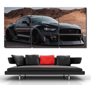 Ford Mustang Canvas FREE Shipping Worldwide!!