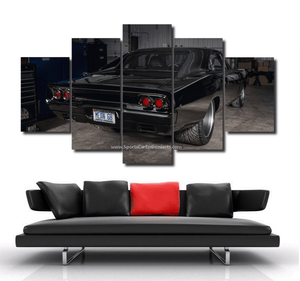 Dodge Charger Canvas 3/5pcs FREE Shipping Worldwide!!
