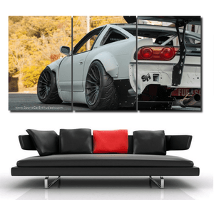 Nissan S13 380sx Canvas FREE Shipping Worldwide!!