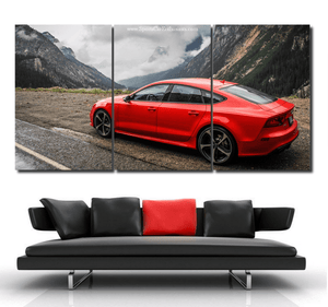 Audi RS7 Canvas 3pcs FREE Shipping Worldwide!!