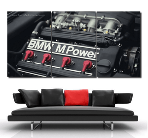 BMW E30 M3 Engine Canvas 3/5pcs FREE Shipping Worldwide!!
