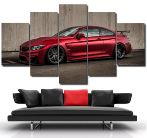BMW M4 Canvas FREE Shipping Worldwide!!
