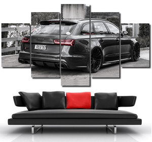 Audi RS6 MTM Canvas FREE Shipping Worldwide!!