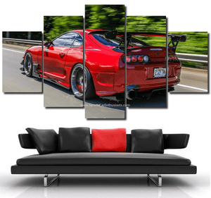 Toyota Supra Canvas FREE Shipping Worldwide!!