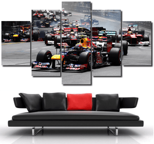Monaco F1 Canvas 3/5pcs FREE Shipping Worldwide!!