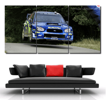 Load image into Gallery viewer, Subaru WRC Canvas 3/5pcs FREE Shipping Worldwide!!