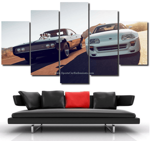 Fast & Furious Canvas FREE Shipping Worldwide!!