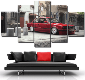 BMW E30 Canvas 3/5pcs FREE Shipping Worldwide!!