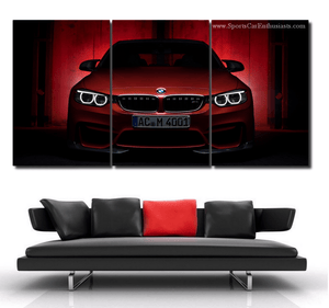 BMW M4 Canvas 3/5pcs FREE Shipping Worldwide!!