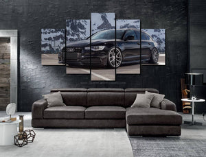 Audi Canvas 3/5pcs FREE Shipping Worldwide!!