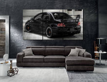 Load image into Gallery viewer, Mitsubishi EVO 9 Canvas 3/5pcs FREE Shipping Worldwide!!
