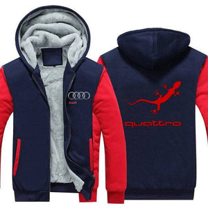 Audi Quattro Top Quality Hoodie FREE Shipping Worldwide!!
