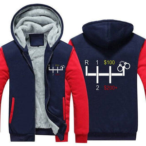 Gear Shifter Top Quality Hoodie FREE Shipping Worldwide!!
