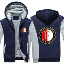 Load image into Gallery viewer, FC Feyenoord Top Quality Hoodie FREE Shipping Worldwide!!