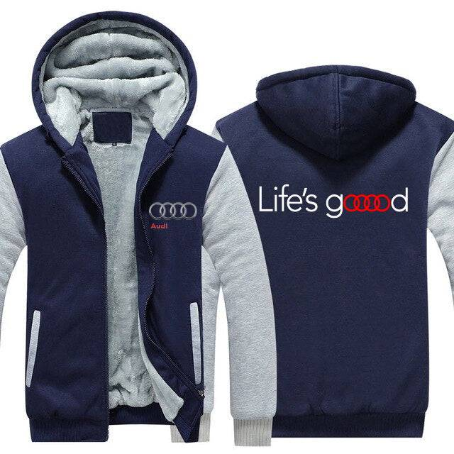 Audi Top Quality Hoodie FREE Shipping Worldwide!!