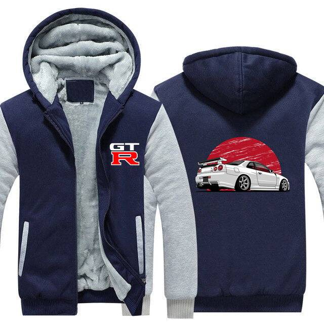Nissan GT-R R34 Skyline Top Quality Hoodie FREE Shipping Worldwide!!