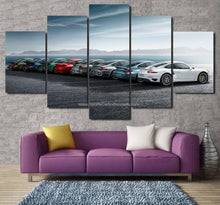Load image into Gallery viewer, Porsche Evolution Canvas 3/5pcs FREE Shipping Worldwide!!