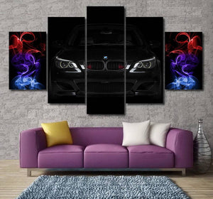 BMW E60 M5 Canvas FREE Shipping Worldwide!!