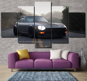 Datsun 280Z Canvas 3/5pcs FREE Shipping Worldwide!!