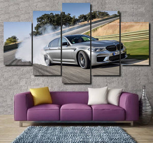 BMW M5 Canvas 3/5pcs FREE Shipping Worldwide!!