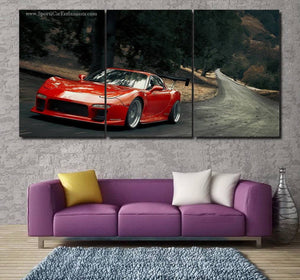 Mazda RX7 Canvas FREE Shipping Worldwide!!