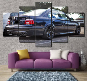 BMW E39 M5 Canvas 3/5pcs FREE Shipping Worldwide!!