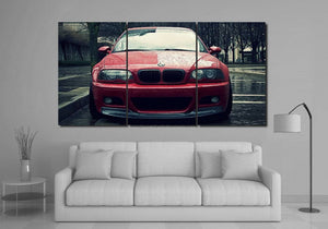 BMW E46 Canvas 3/5pcs FREE Shipping Worldwide!!